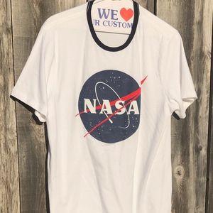 Old Navy short sleeved T-shirt with NASA logo